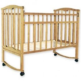 Детская кроватка Агат Золушка-1 светлый Арт.52100