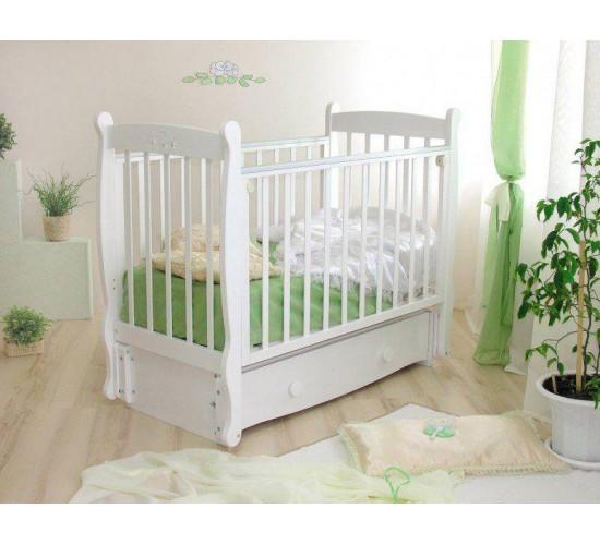 Детская кроватка Можга Елисей С 717 Птички