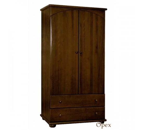 Шкаф для одежды детский Кубаньлесстрой АБ 35 орех