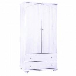 Шкаф для одежды детский Кубаньлесстрой АБ 35 белый