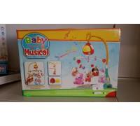 Игрушка на кроватку с мягкими игрушками