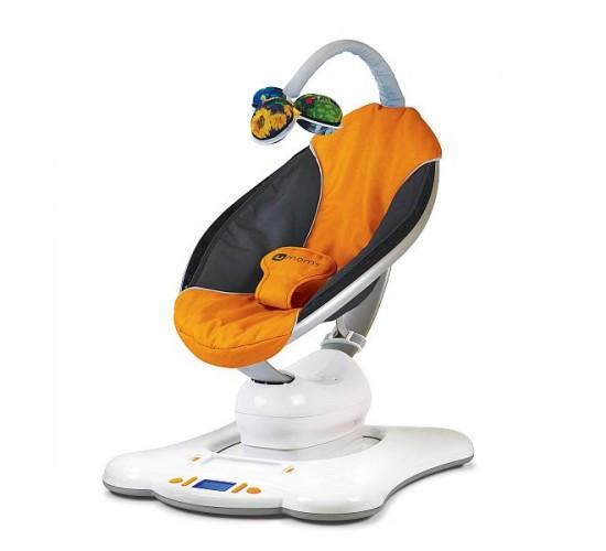 Электронное кресло-качалка 4moms MamaRoo оранжевый