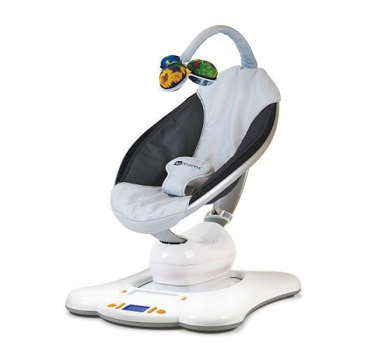 Электронное кресло-качалка 4moms MamaRoo серый