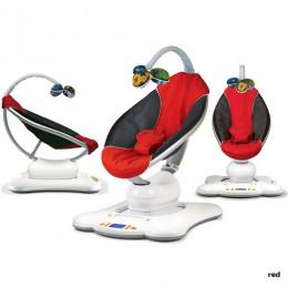 Электронное кресло-качалка 4moms MamaRoo красный