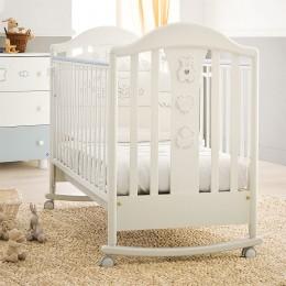 Кровать детская Classic Prestige белый 125*65