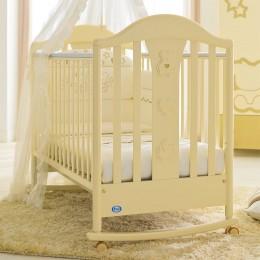 Кровать детская Classic Prestige слоновая кость 125*65