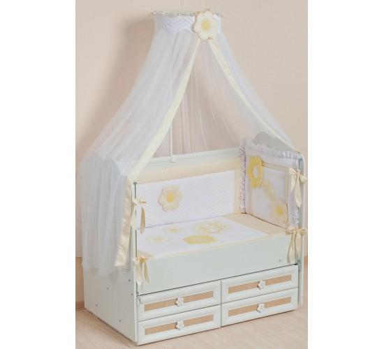 Комплект в кроватку арт 62 Цветные сны
