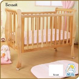 Кроватка АБ 21.0 Лаванда белый