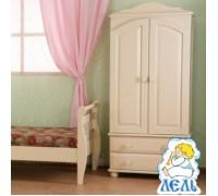 Шкаф для одежды детский БИ 01 слоновая кость