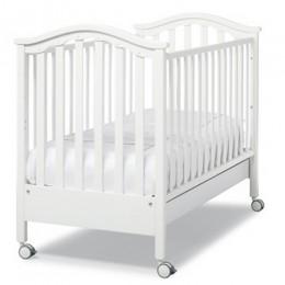 Кроватка Erbesi Aurora Swarovski белый