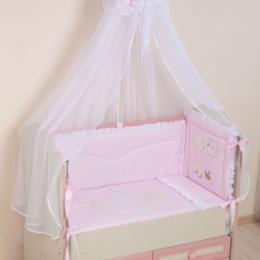 Комплект в кроватку Арт.65 розовый