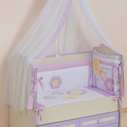 Комплект в кроватку Сдобина Арт. 62 фиолетовый