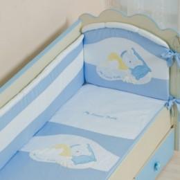 Комплект постельного белья Сдобина Арт. 50.112 голубой