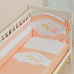 Комплект постельного белья Сдобина Арт. 50.112 персиковый
