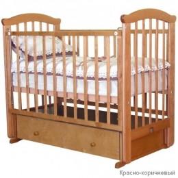 Кроватка С 625 медовый поперечный маятник