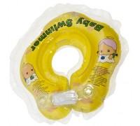 Круг для купания Baby Swimmer желтый (полноцвет) BS21Y