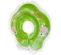 Круг для купания Baby Swimmer зеленый (полноцвет) BS21G