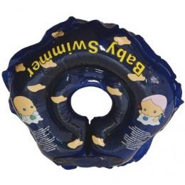 Круг для купания Baby Swimmer синий (полноцвет) BS01D