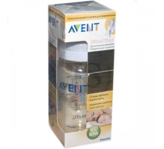 Бутылочка для кормления 330 мл. BPA-Free. Avent. Арт. 86470