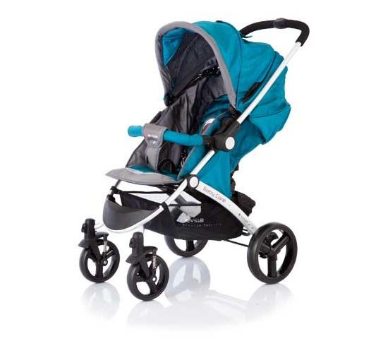 Коляска Baby Care Seville. Grey/Blue