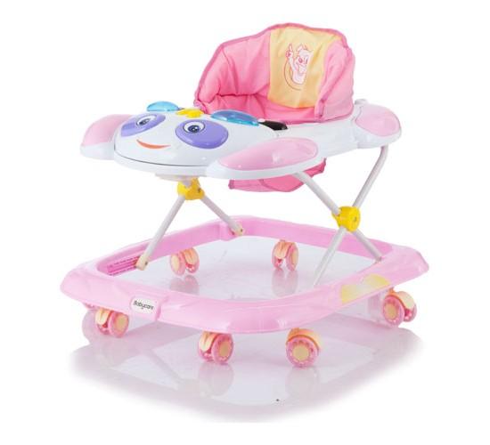 Ходунки Baby Care Panda. Pink