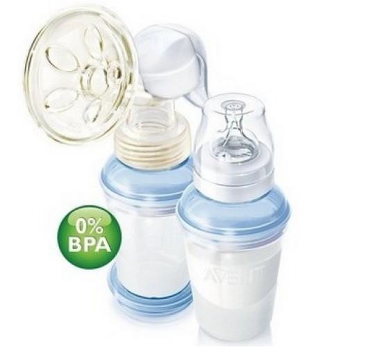 Молокоотсос ручной ISIS с системой хранения молока Via BPA-Free. AVENT. Арт. 86520