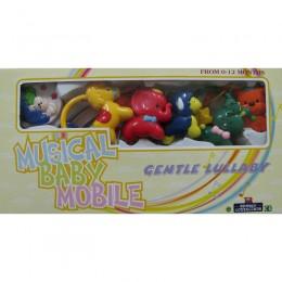 Игрушка (карусель) механическая Musical Baby Mobile. Арт.3966