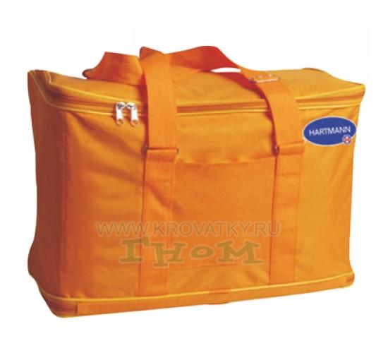 Сумка - трансформер с набором для рожениц (оранжевая)