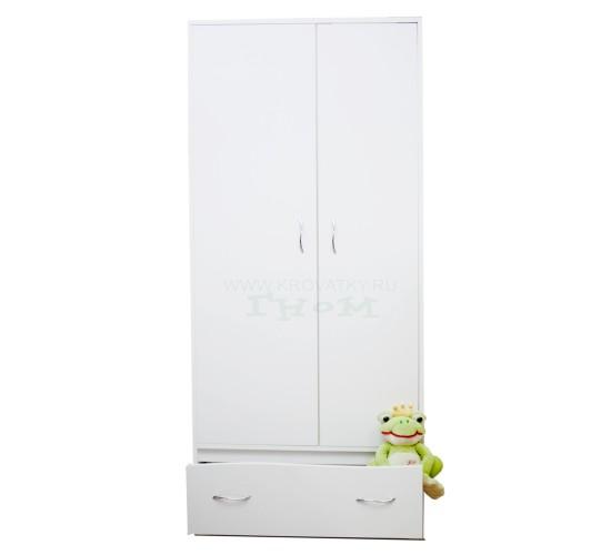 "Шкаф для одежды ""Чунга-Чанга"" белый"