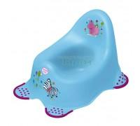 Детский горшок Prima Baby Hippo голубой