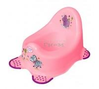 Детский горшок Prima Baby Hippo розовый