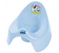 Детский горшок Prima Baby Mickey голубой
