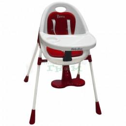 Стульчик для кормления Baby Care Basis Red