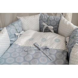 Комплект Lappetti Ривьера арт. 6106  Для овальной или прямоугольной кроватки