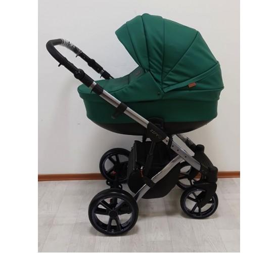 Детская коляска Baby Merc Zipy Q limited edition кожа 2 в 1  с прогулочным блоком