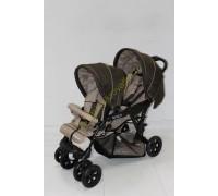 Прогулочная коляска Baby Care Tandem для двойни