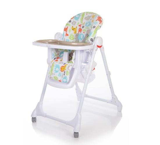 Стульчик для кормления Baby Care Fiesta серый