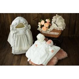Комплект детский 7-и Gulsara АРТ 132.1 горох зима (девочка)