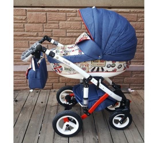 Детская коляска Adamex Galactic World Collection 2 в 1