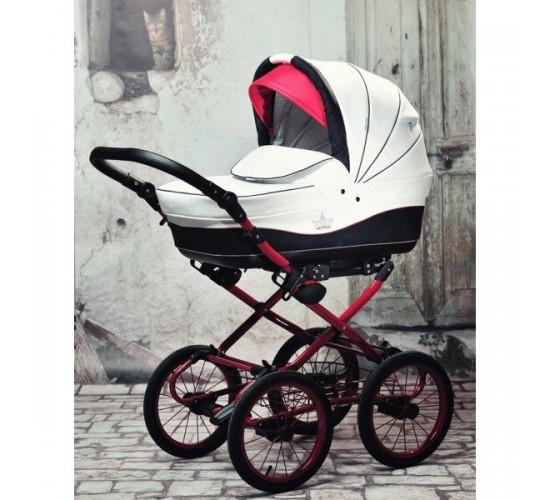Детская коляска Esperanza Classic Crown 2 в 1 (100% Эко-кожа)