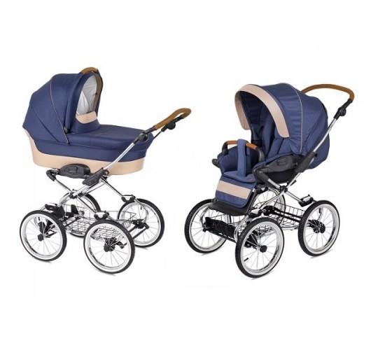 Детская коляска Navington Caravel 2 в 1 экокожа