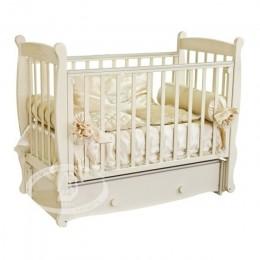 Детская кроватка Можга Елисей С 717 Паровозики
