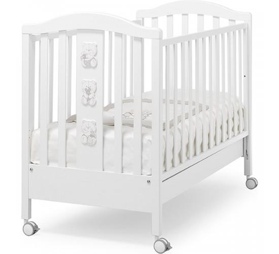 Детская кроватка Erbesi Timmy, колеса