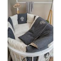 Комплект в кроватку Lappetti Organic Baby Cotton универсальный арт 6100