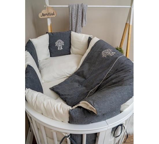 Комплект в кроватку Lappetti Organic Baby Cotton универсальный