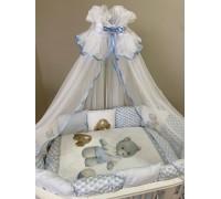Комплект Lappetti Лео арт. 6093  Для круглой и овальной кроватки