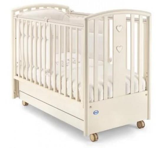 Детская кроватка Pali Lisa маятник с матрасом в комплекте