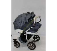 Детская коляска для двойни Indigo Duo 2 в 1