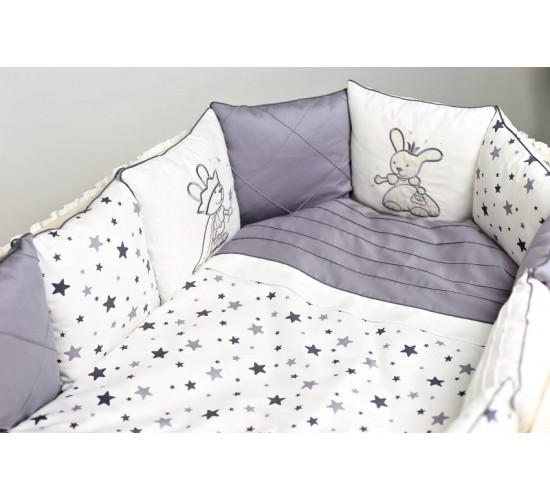 """Комплект для круглой ( овальной ) и прямоугольной кроватки Lappetti """"Звездочет"""" арт.6061А"""