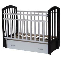 Детская кроватка Антел Алита 6 продольный маятник с ящиком